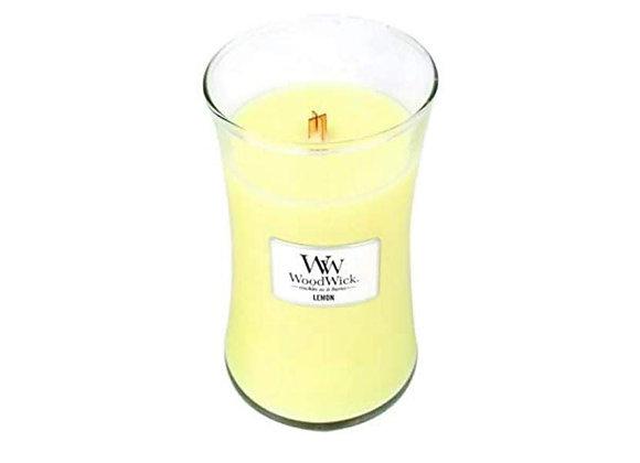 Cannwyll Lemon Woodwick Candle