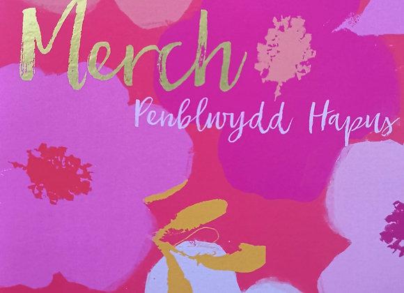 Penblwydd Hapus Merch