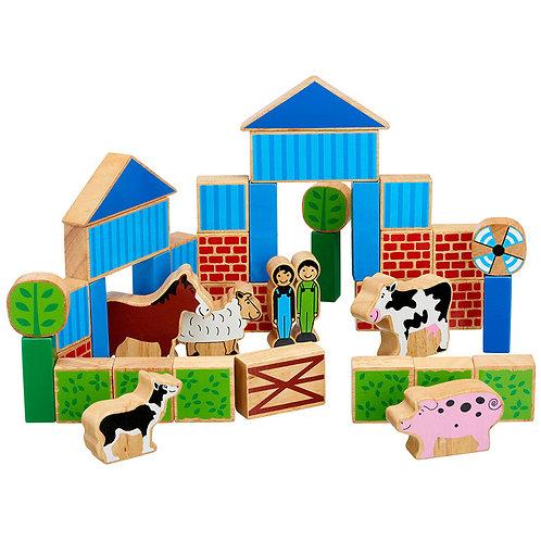 Blociau Adeiladu Fferm Lanka Kade Farm Building Blocks