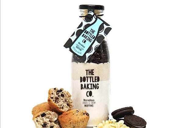 Bottled Baking Marvellous Cookies & Creme Muffins