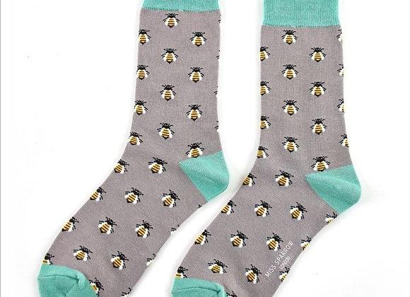 Sanau Honey Bees Miss Sparrow Socks