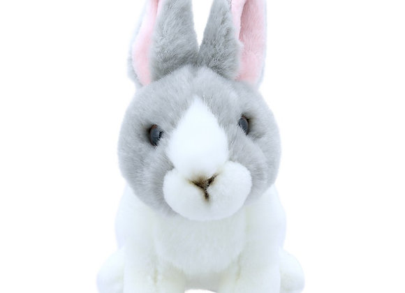 Cwiningen / Rabbit - Grey & White - Wilberry Mini's