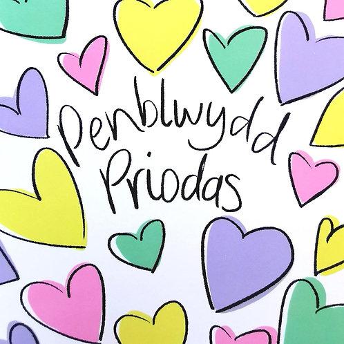 Penblwydd Priodas