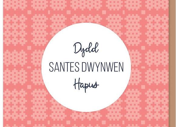 Carden Santes Dwynwen