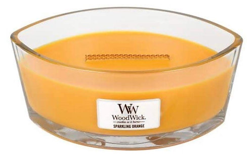 Cannwyll Sparkiling Orange Woodwick Candle