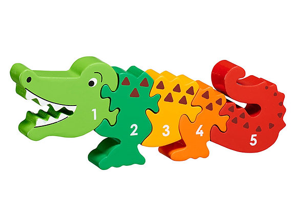 Jig-so Crocodeil Lanka Kade Crocodile Jigsaw