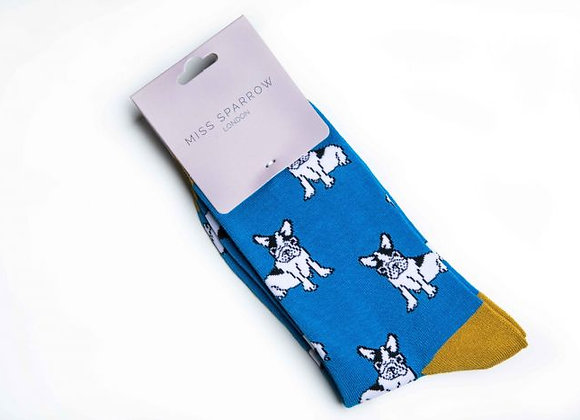 Sanau Turqoise Bulldogs  Mr Heron Socks