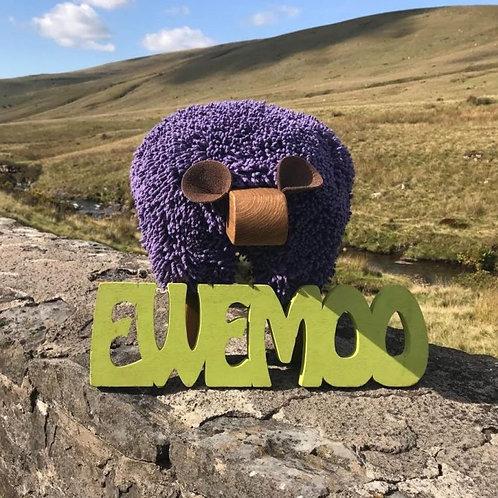 Ewemoo Footstool Fioled/ Ultra Violet