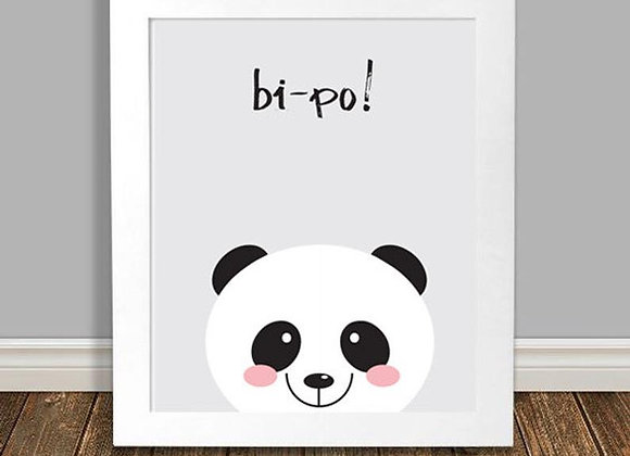 Print bi-po Panda