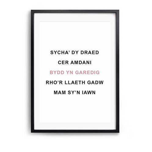 Print Rheolu'r Ty/ House Rules