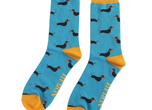 Sanau Little Sausage DogsMr Heron Socks