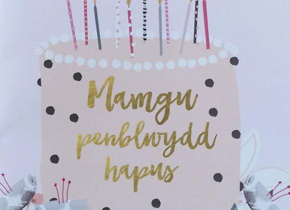 Penblwydd Hapus Mamgu