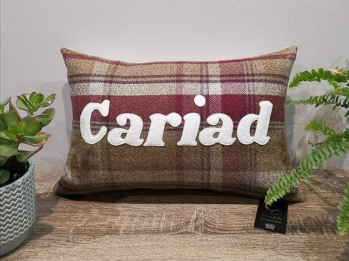 Clustog Cariad Cushion