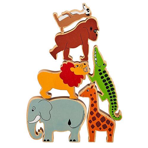 Set o 6 Anifail Y Byd / Set of 6 World Animals