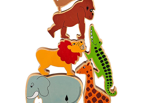 Set o 6 Anifail Y Byd / Set of 6 World Animals