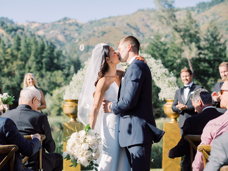 BYS Real Weddings - A Classic Affair in Calistoga
