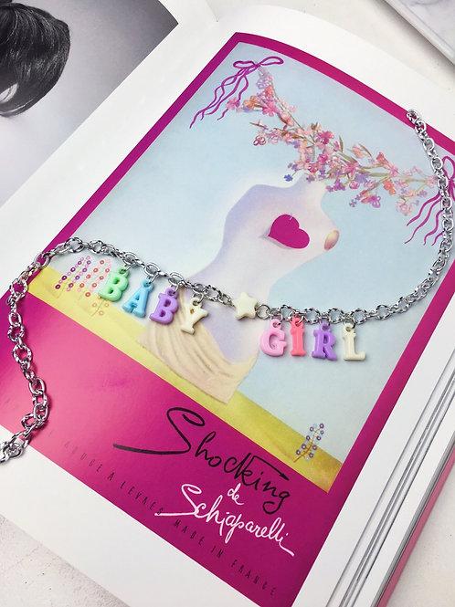Colar Baby Girl Prateado