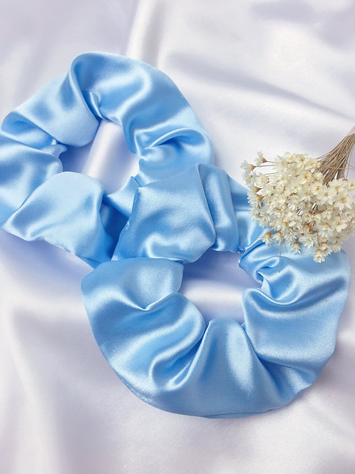 Scrunchie Azul bebê