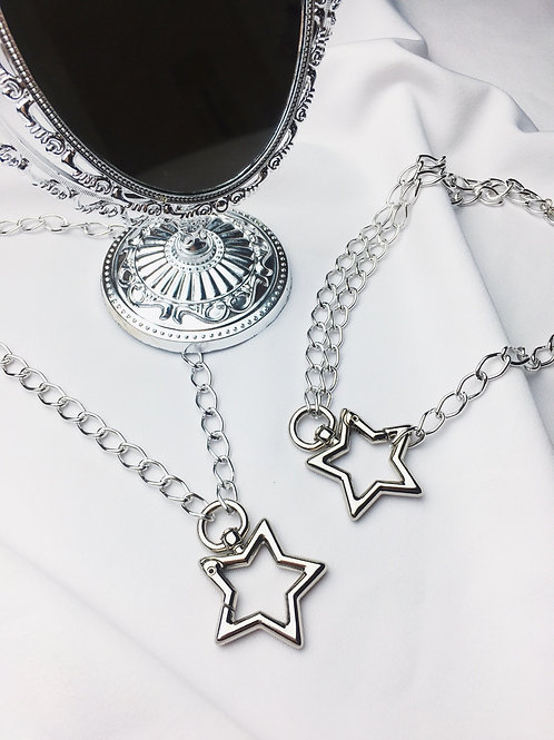 Colar Chaveiro Star