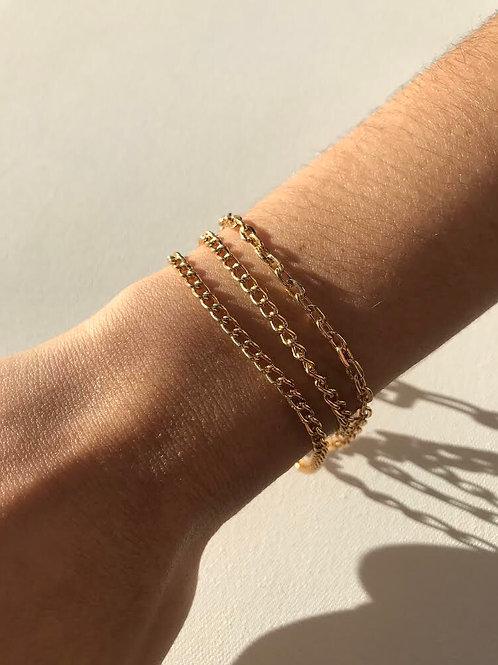 Pulseira Trendy Dourada