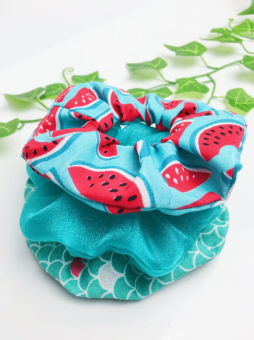 Kit de Scrunchies Watermelon