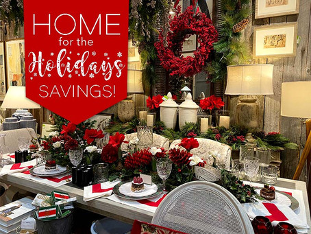 Home for the Holidays Savings Event