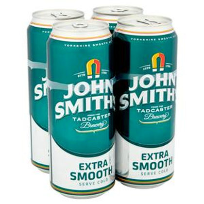 John Smiths Extra Smooth 4x 440 Can
