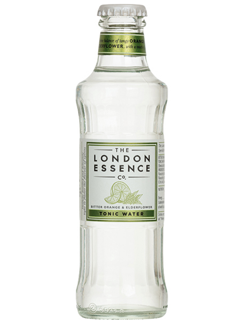 London Essence Bitter Orange & Elderflower Tonic Water 200ml