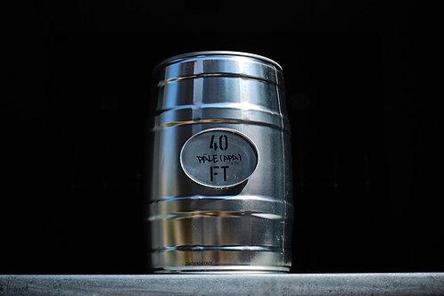 40FT Brewery MINI KEG 5L - DISCO PILS | 4.8%