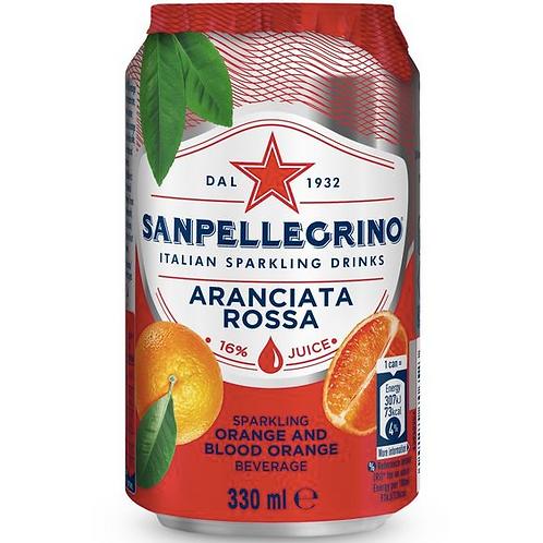 Sanpellegrino Aranciata Rossa, Can, 330ml