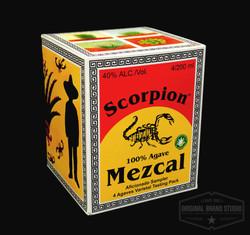 Diseño Empaque Mezcal Scorpion