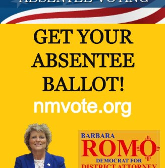 VOTE! Sign up for your absentee ballot by May 28th at 5:00 PM.