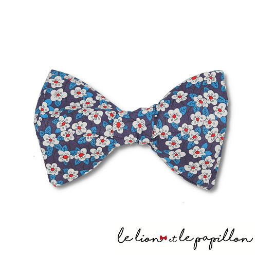 Noeud papillon Liberty Mitsi bleu