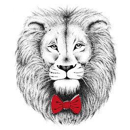 Le lion et le papillon , Nœuds papillon, accessoires de mariage et vêtements pour enfants.