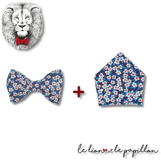 Pack Nœud papillon + Pochette assortie
