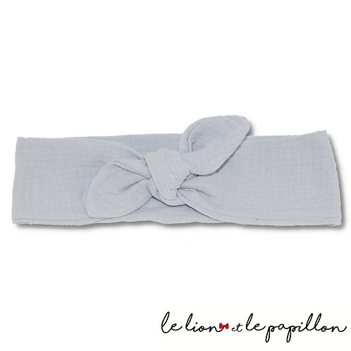 Bandeau double gaze gris