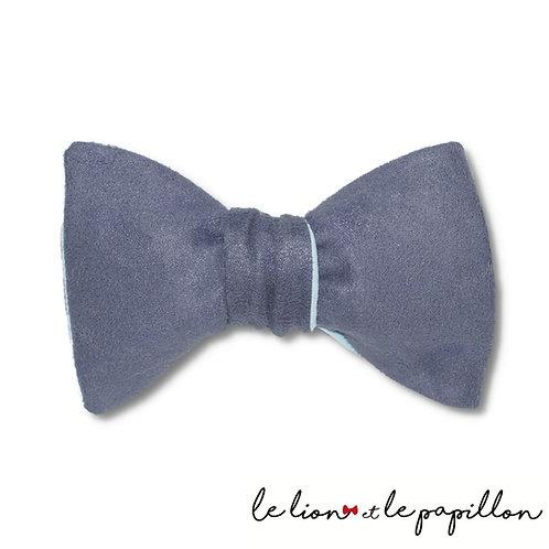 Noeud papillon bleu