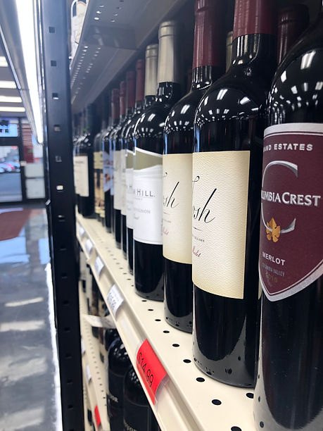 Foked River Wines and Spirtis Wine Collection