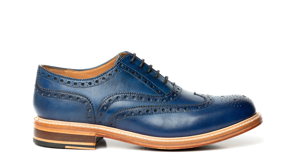 WILLIAM W034 COUNTRY BROGUE NAVY