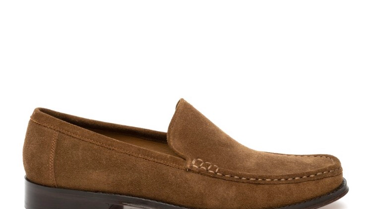 2413 CLASSIC LOAFER TOBACCO SUEDE