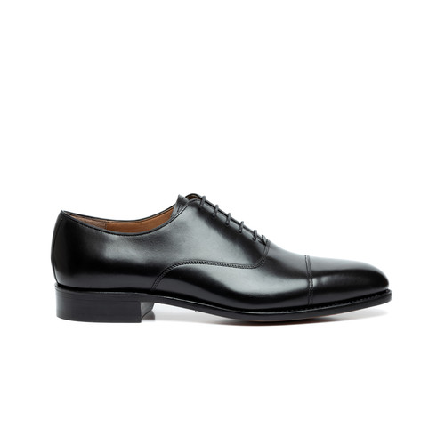 bab9acdda40 THOMAS CAP-TOE OXFORD BLACK