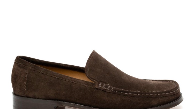 2413 CLASSIC LOAFER CHOC SUEDE