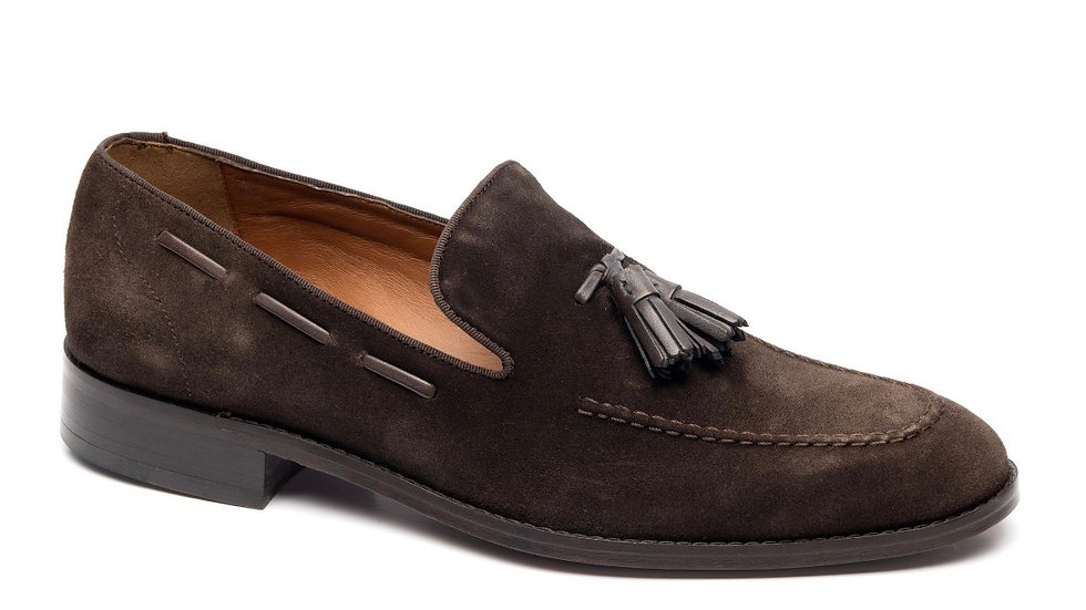 2324 LOAFER CHOCOLATE/Brown trim