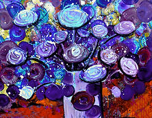 Finger painting is not just for kids! A hands on fun way to paint on Finger Paint Night.