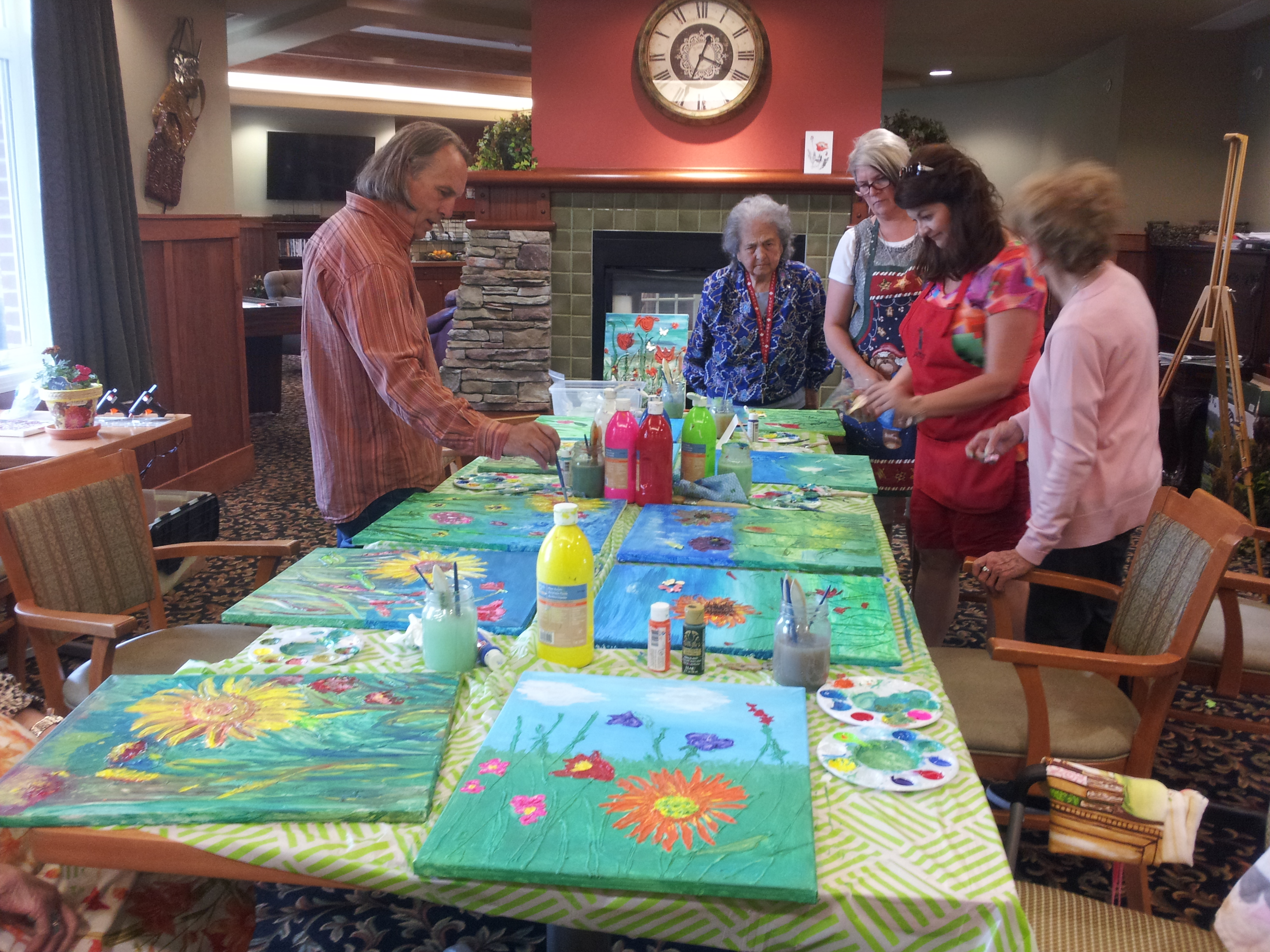 Seniors Art Parties!