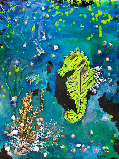 Sea Horse  by Carol Marasco Hamilton