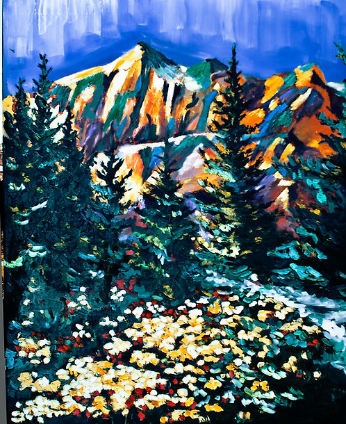 The Path by Janice Mather  SOLD