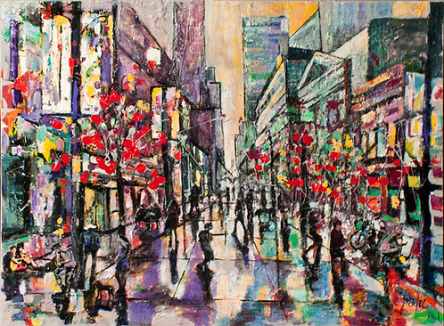 Stephen Avenue Summers Coming