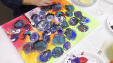 Finger Painting is so much fun!