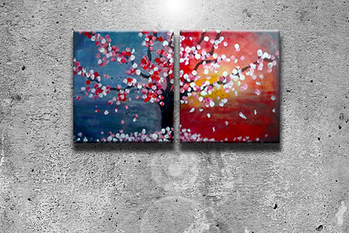 Mother and Daughter Painting- group of 10